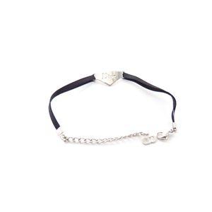 Christian Dior Armband Schmuck in Silber Schwarz (AHB) 001