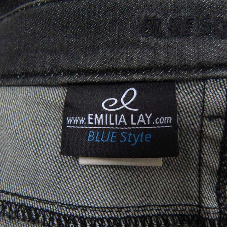 Emilia Lay Blue Style Jeansrock Rock Gr. 52 in Anthrazit Grau (AHB) – Bild 3