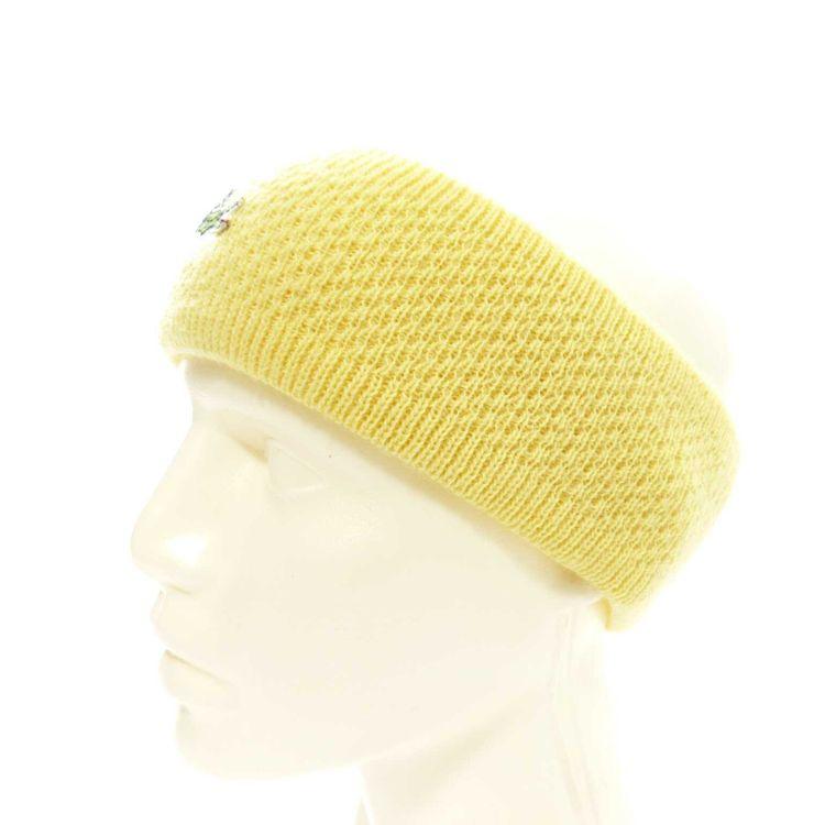 Lacoste Stirnband Gr. One Size in Gelb (AHB) – Bild 2