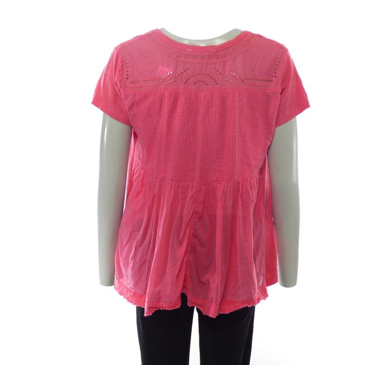 Odd Molly Kurzarm Shirt Gr. 38// 3 in Rosa (HH) – Bild 2