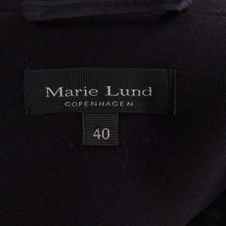 Marie Lund Ärmelloses Kleid Gr. 40 in Schwarz (HH) – Bild 3