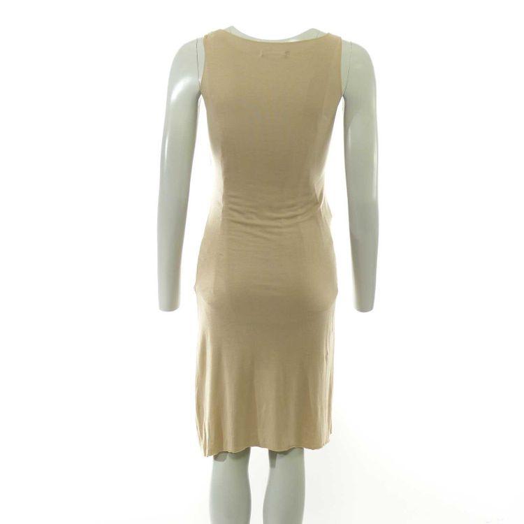 Stefanel Träger Kleid Gr. M in Beige (HH) – Bild 2