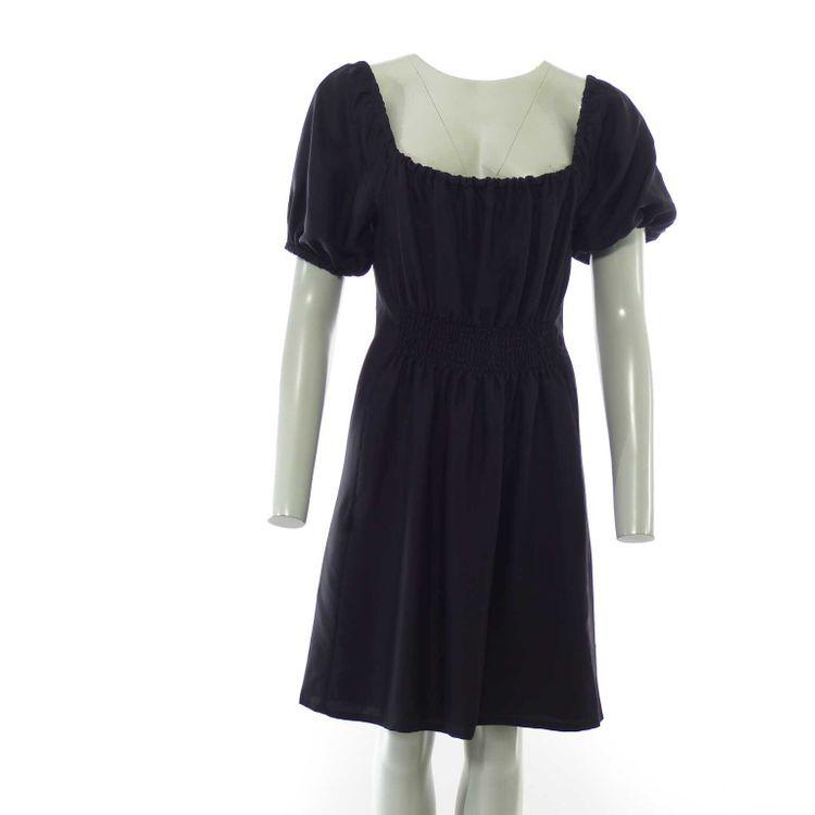 Prada Kurzarm Kleid Gr. 38/40 in Schwarz (HH) – Bild 1