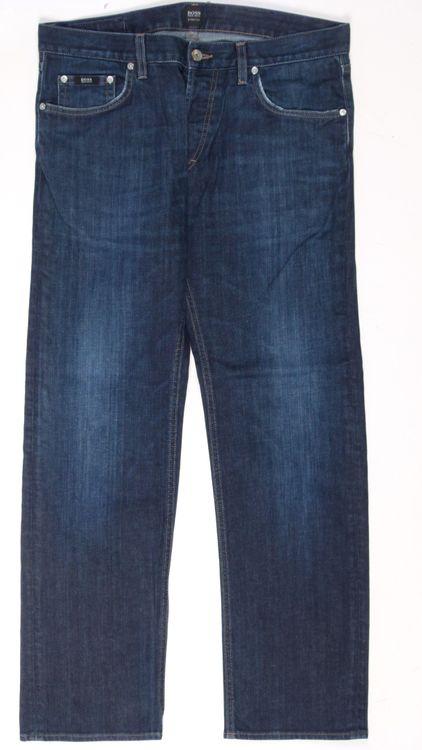 Hugo Boss Jeans Hose W 36 L 32 - 36/32 in Blau (AHB) – Bild 1