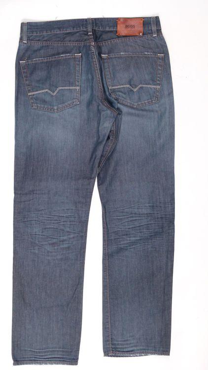 Hugo Boss Jeans Hose W 36 L 34 - 36/34 in Blau (AHB) – Bild 3