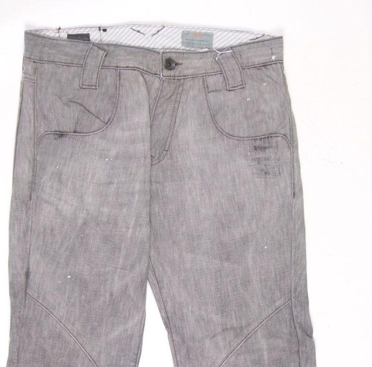 Hugo Boss Jeans Hose W 33 L 32 - 33/32 in Grau (AHB) – Bild 2
