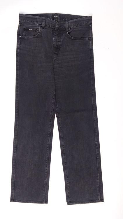 Hugo Boss Jeans Hose W 32 L 32 - 32/32 in Schwarz Grau (AHB) – Bild 1