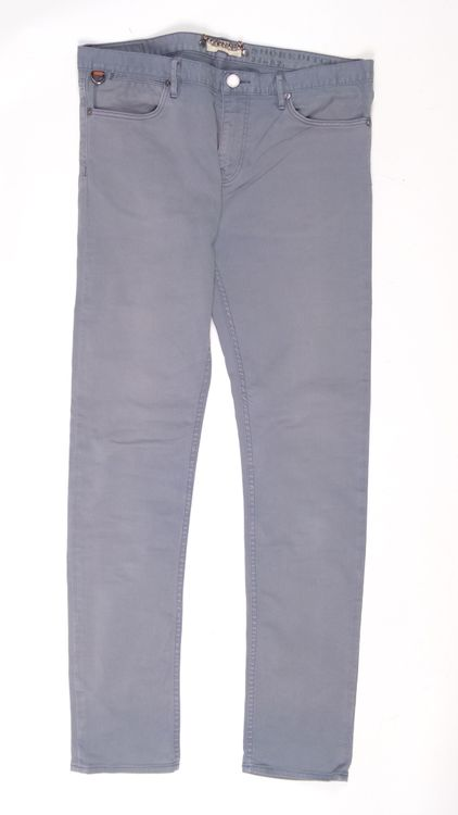 Burberry Jeans Hose W 34 L 32 - 34/32 in Graublau Grau (AHB) – Bild 1