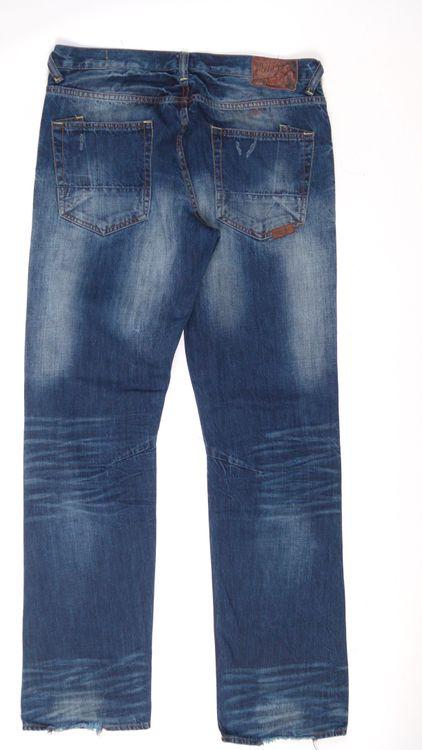 PRPS Jeans Hose W 34 in Blau (AHB) – Bild 3