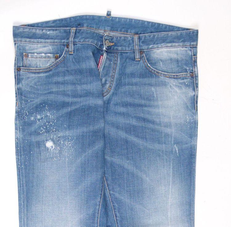 Dsquared² Jeans Hose Gr. 54 in Blau (AHB) – Bild 2