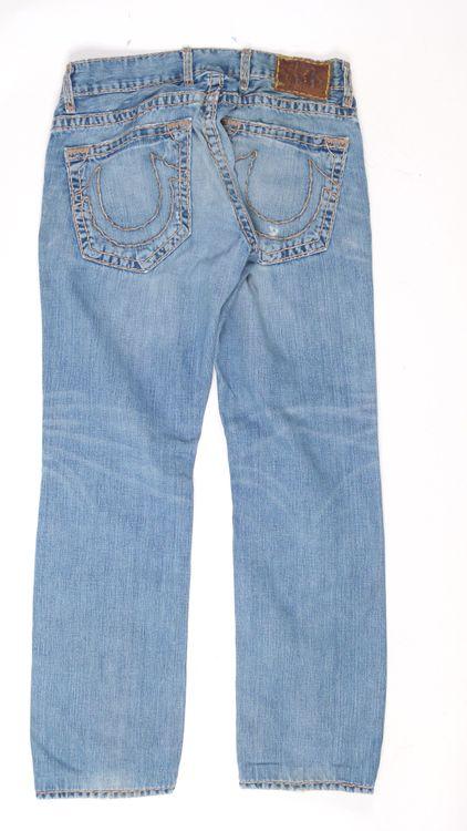 True Religion Jeans Hose W 32 in Blau (AHB) – Bild 3