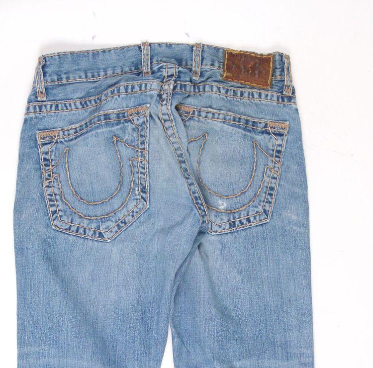 True Religion Jeans Hose W 32 in Blau (AHB) – Bild 4
