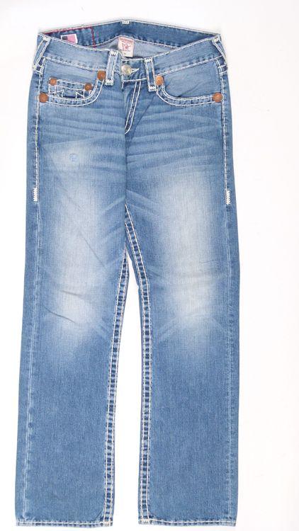 True Religion Bobby Super T Jeans Hose W 32 in Blau (AHB) – Bild 1
