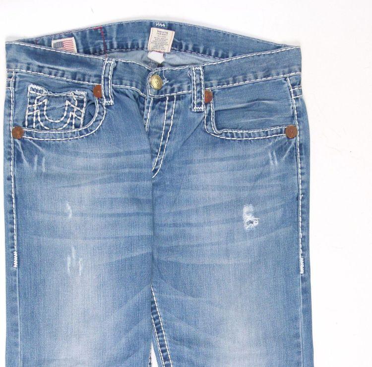True Religion Logan Super T Jeans Hose W 36 in Blau (AHB) – Bild 2