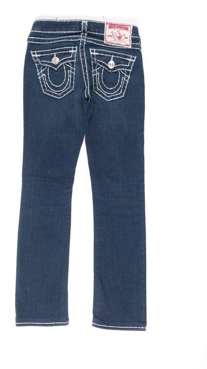 True Religion Billy Super T Jeans Hose W 25 in Blau (AHB) – Bild 3