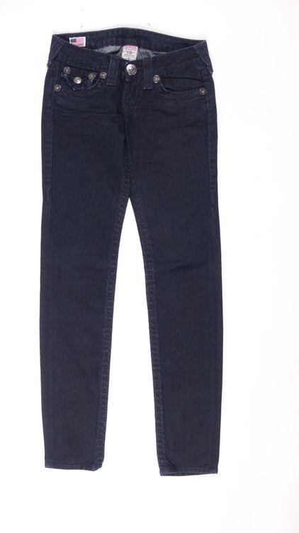 True Religion Julie Super T Jeans Hose W 25 in Blau (AHB) – Bild 1