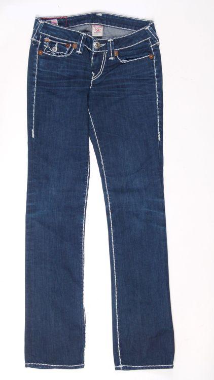 True Religion Billy Super T Jeans Hose W 27 in Blau (AHB) – Bild 1