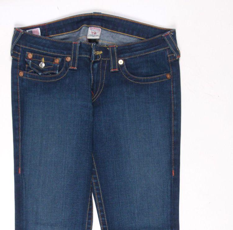 True Religion Julie Jeans Hose W 30 in Blau (AHB) – Bild 2