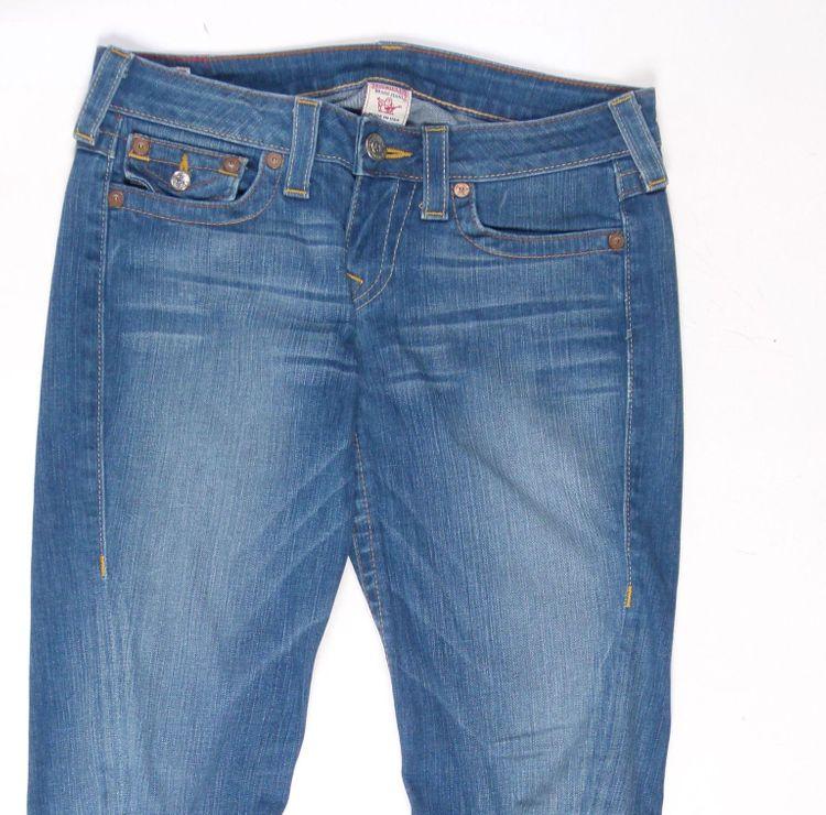 True Religion Julie Jeans Hose W 29 in Blau (AHB) – Bild 2