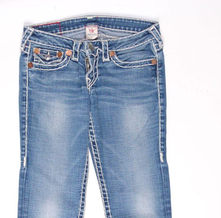 True Religion Julie Super T Jeans Hose W 27 in Blau (AHB) – Bild 2