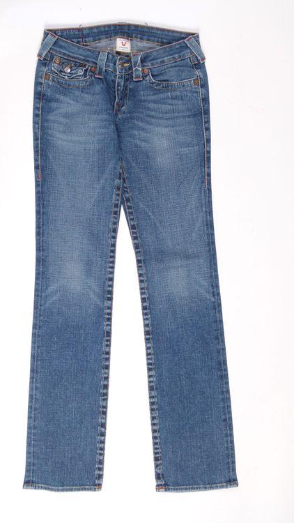 True Religion Billy Jeans Hose W 27 in Blau (AHB) – Bild 1