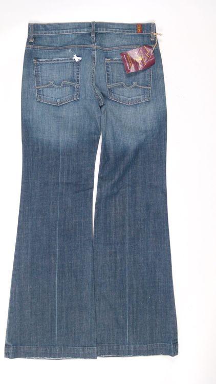 7 Seven for all Mankind GingerJeans Hose W 31 in Blau NEU (AHB) – Bild 3