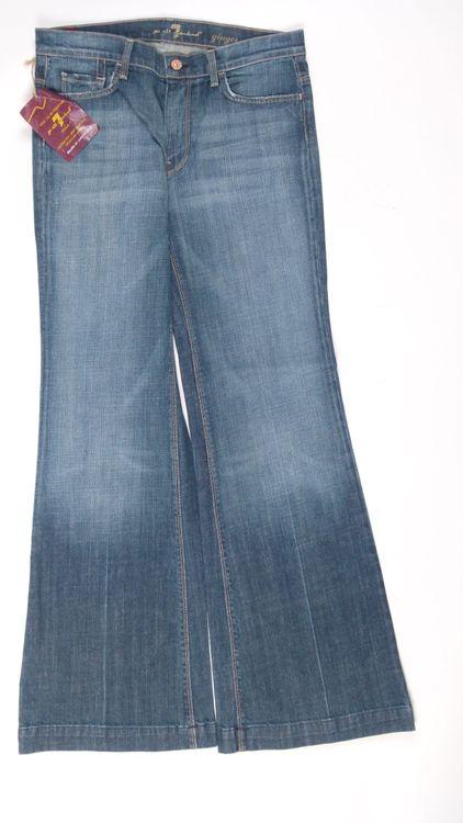 7 Seven for all Mankind GingerJeans Hose W 31 in Blau NEU (AHB) – Bild 1