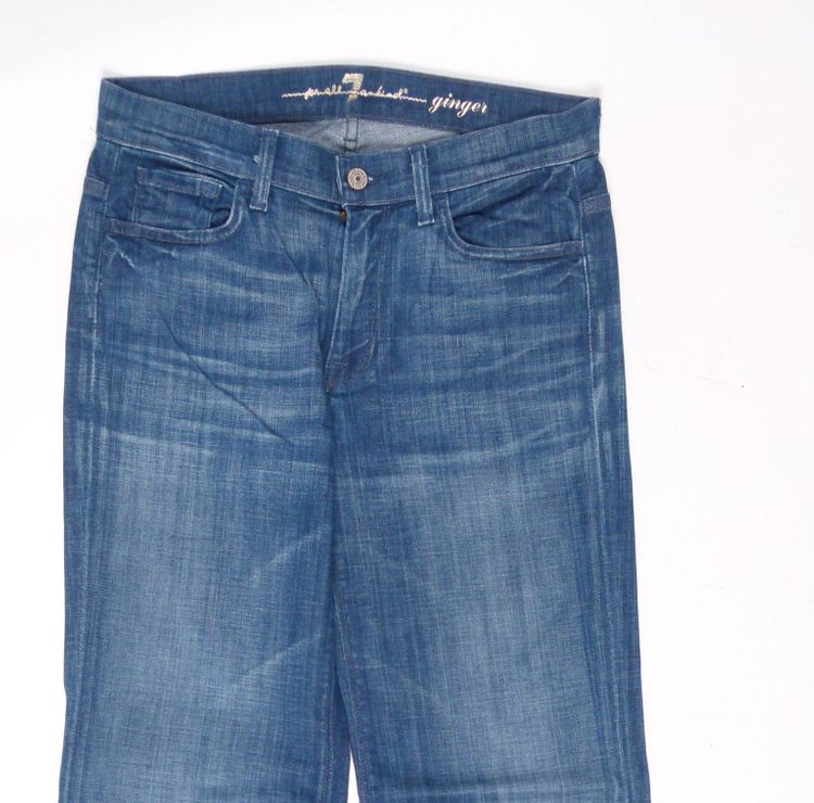 7 Seven for all Mankind Ginger Jeans Hose W 27 in Blau (AHB) – Bild 2