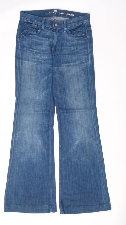 7 Seven for all Mankind Ginger Jeans Hose W 27 in Blau (AHB) – Bild 1