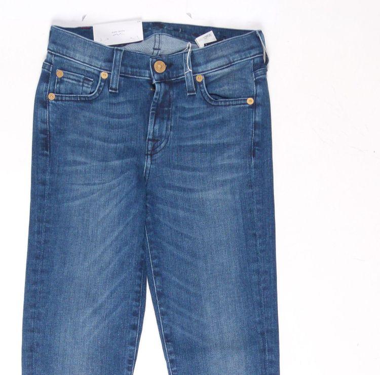 7 Seven for all Mankind Jeans Hose W 24 in Blau NEU (AHB) – Bild 2