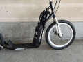 Elektro Scooter Tretroller Mezeq 20  16  Disc Brake black/white