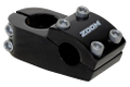 Zoom AHEAD-Vorbau für BMX Alu schwarz 1.1/8 (28.6) 50/30 mm, 22.2mm,