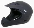 Ventura Freeride Downhill Helm Kinnschutz Gr M matt schwarz