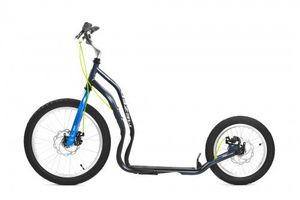 Yedoo Mezeq Disc New Version 20 16  grey/blue Dogscooter Tretroller Erwachsene