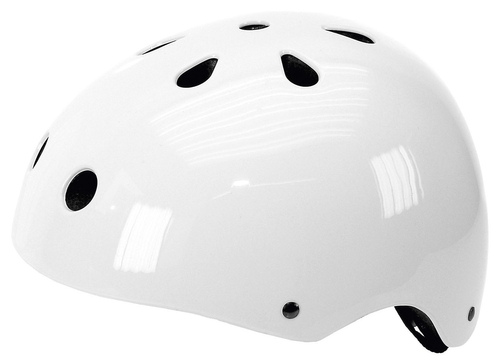 Ventura Freestyle Inline BMX Outdoor Helm weiss Gr. M