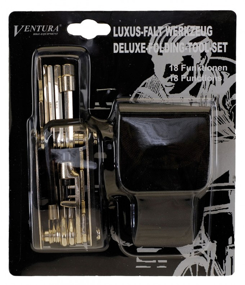 Luxus Falt Werkzeug 18 Funktionen 2 tlg Ventura – Bild 3