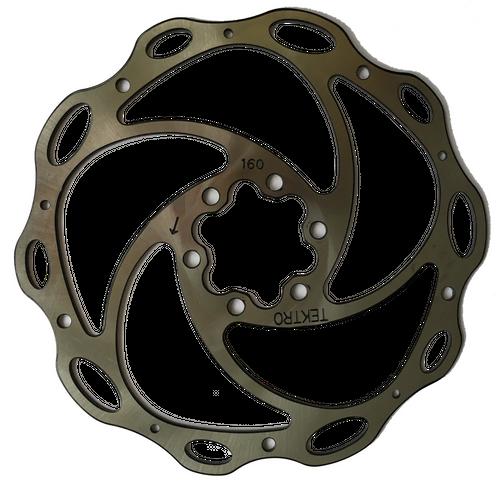 Tektro Bremsscheibe Disc 160mm TR160-4 6 Loch
