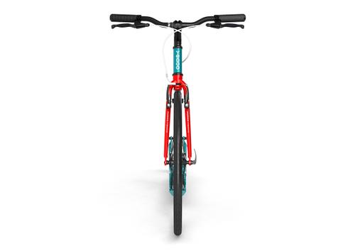 "Yedoo Tretroller Trexx Alu turquoise/red 26""20"" Sport u. Allroundroller – Bild 3"