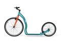 "Yedoo Tretroller Trexx Alu turquoise/red 26""20"" Sport u. Allroundroller"