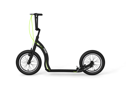 "Yedoo Tretroller Friday Alu black 16""16""  Cityroller Tretroller – Bild 1"