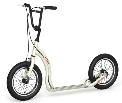 "Yedoo Tretroller Friday Alu cream 16""16""  Cityroller  Tretroller – Bild 2"
