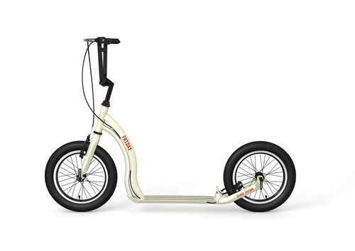 "Yedoo Tretroller Friday Alu cream 16""16""  Cityroller  Tretroller – Bild 1"
