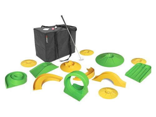 Myminigolf to go Komplett Set Basic Minigolf to go für Innen und Außen Minigolf Set