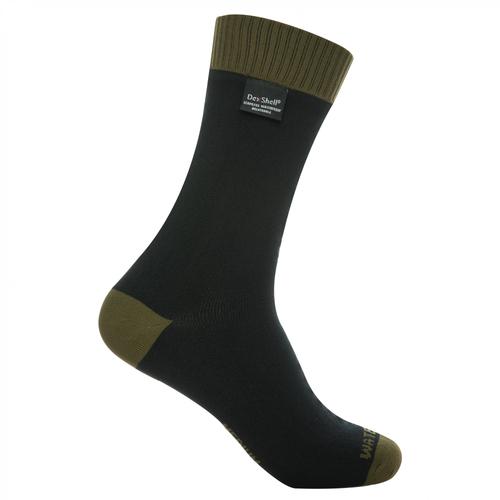 Dexshell Thermlite DS626O wasserdichte und atmungsaktive Socken schwarz/olive