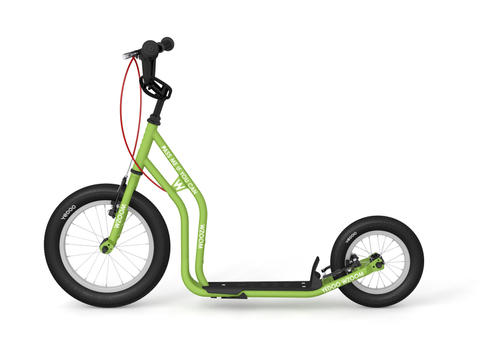 "Yedoo New Wzoom 16"" 12"" Tretroller  green Kickscooter for cool Girls and Boys – Bild 1"