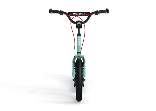 "Yedoo New Wzoom 16"" 12"" Tretroller  Turquoise  Kickscooter for cool Girls and Boys – Bild 2"