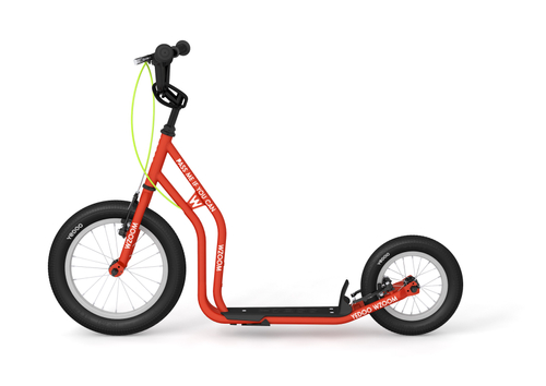 Yedoo New Wzoom 16  12  Tretroller  RED  Kickscooter for cool Girls and Boys