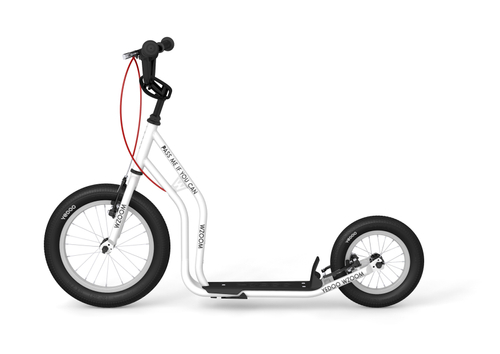 "Yedoo New Wzoom 16"" 12"" Tretroller  White  Kickscooter for cool Girls and Boys – Bild 1"