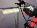 Bikeantenne KlickFix MIT Halterung für Dogscooter und Bike