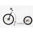 KICKBIKE CROSS FIX WHITE Dogscooter Disc-Brake weiß